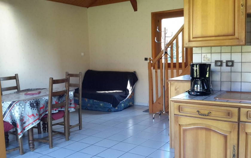 Location de vacances - Chalet à Taninges - MONT-CALY N°1 Pièce principale