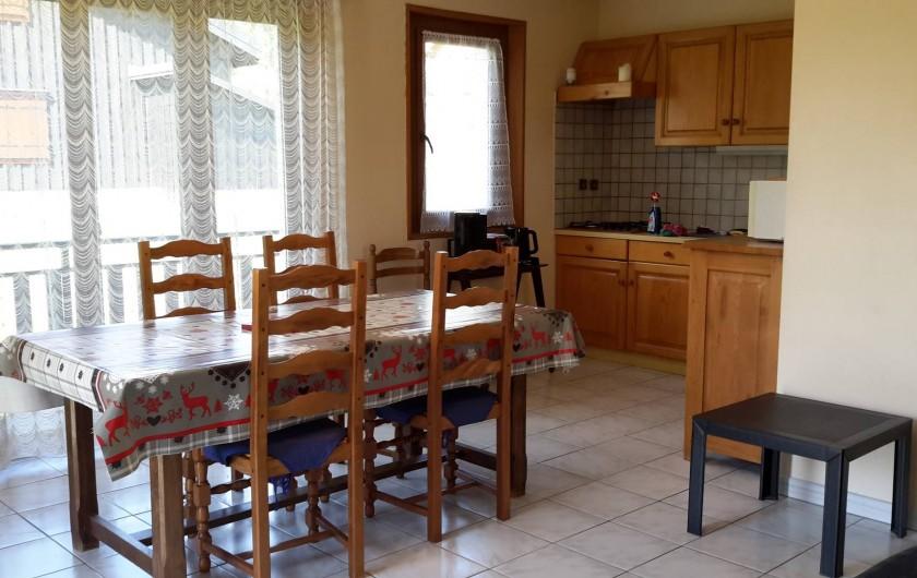 Location de vacances - Chalet à Taninges - MONT-CALY N°2 Pièce principale