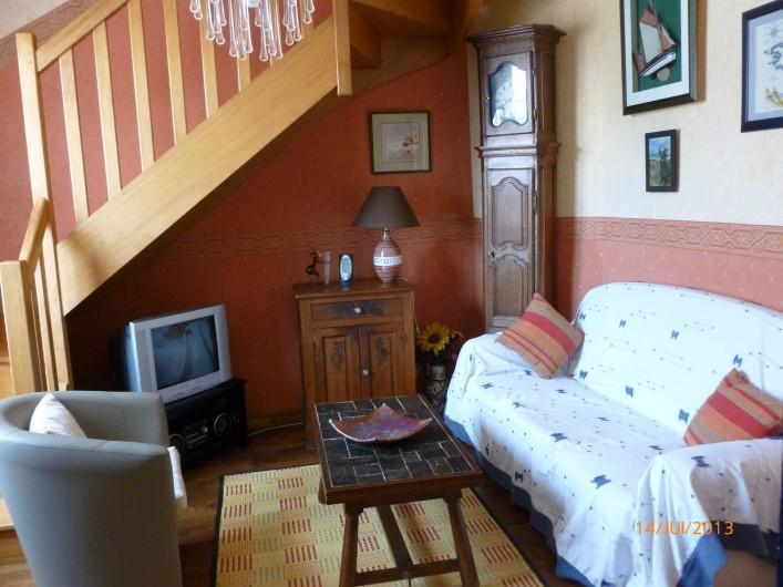Location de vacances - Villa à Concarneau - petit salon