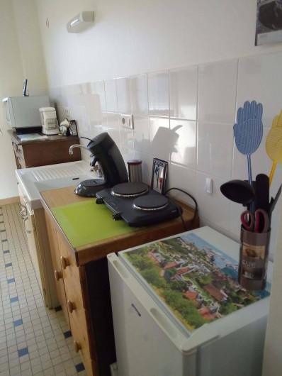 Location de vacances - Appartement à Liourdres - living électroménagers