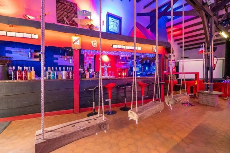 Location de vacances - Bungalow - Mobilhome à Camiers - bar ,salon,jeux