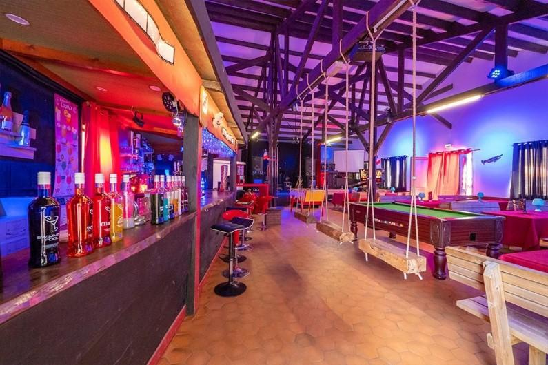 Location de vacances - Bungalow - Mobilhome à Camiers - bar ,salon ,jeux