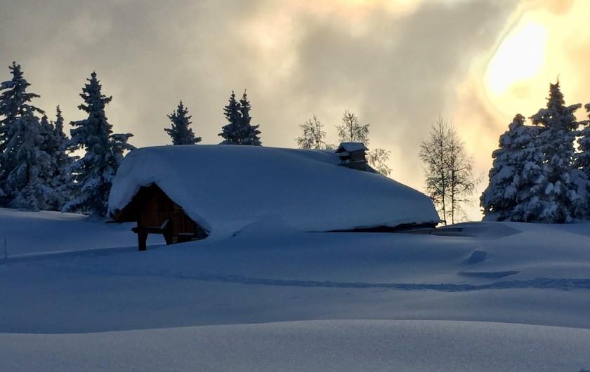 Location de vacances - Chalet à Servoz - Il pourrait vous y conduire ....