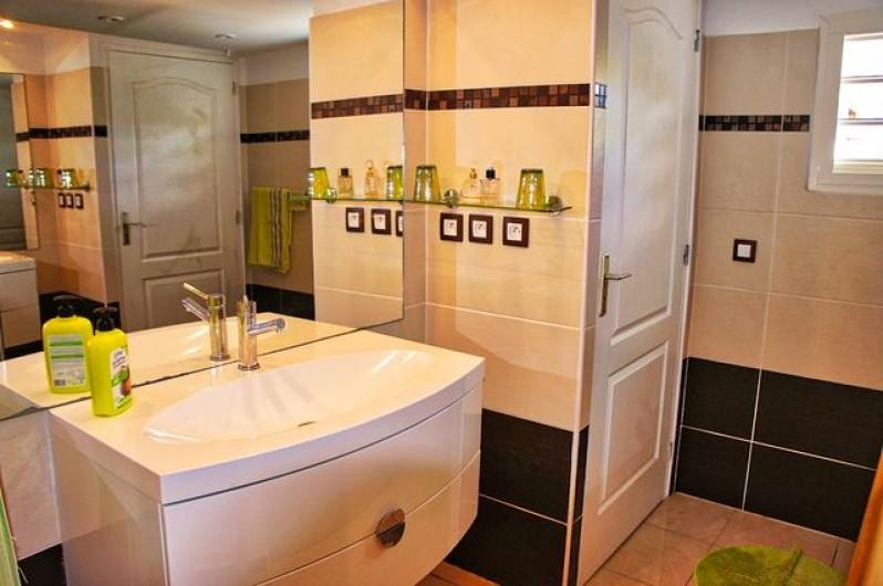 Location de vacances - Villa à Saint-François - Salle de bains chambre 1