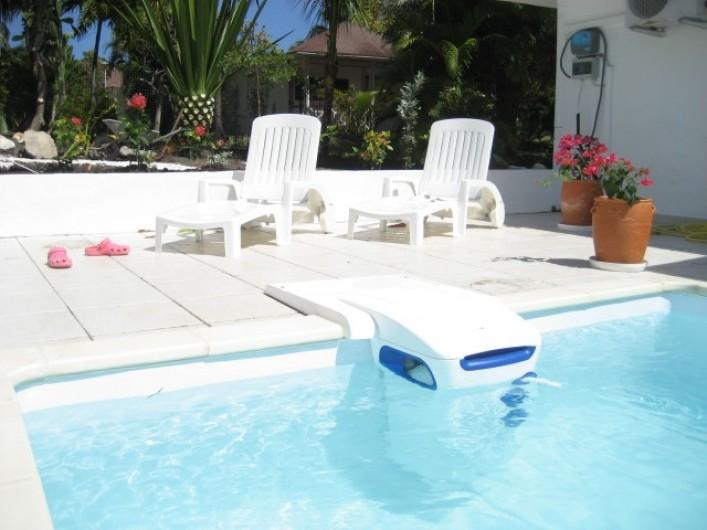 Location de vacances - Villa à Saint-François - Chambre 3 climatisée