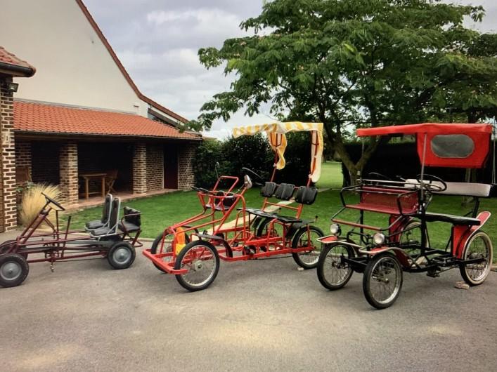 Location de vacances - Gîte à Omiécourt - Rosalies pour balades agréables et sportives