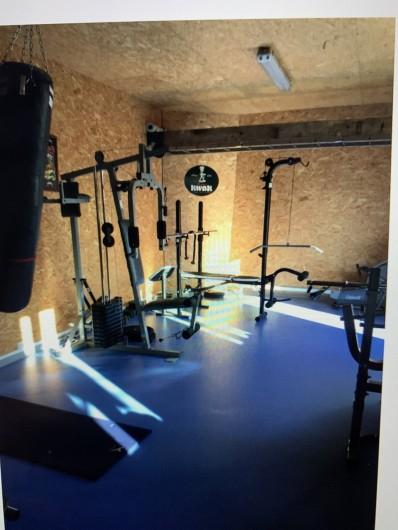 Location de vacances - Gîte à Omiécourt - Salle de fitness accessible sur demande