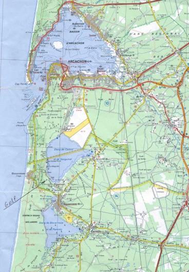 Location de vacances - Villa à Biscarrosse Plage - Maison Manuela entre Lac et Océan
