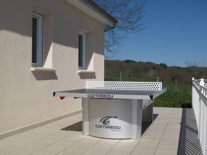 Location de vacances - Gîte à Cublac - Table de ping-pong