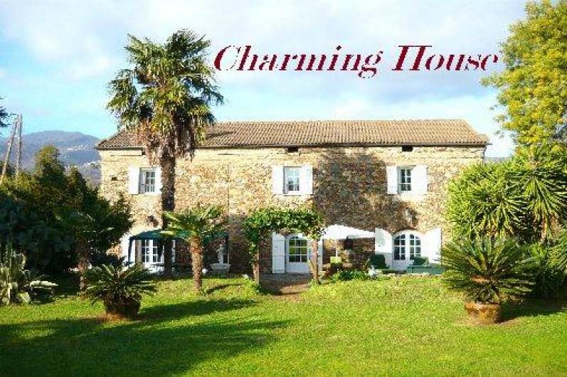 Location de vacances - Villa à Moriani-Plage - Maison de Charme en pierres  datant de 1828
