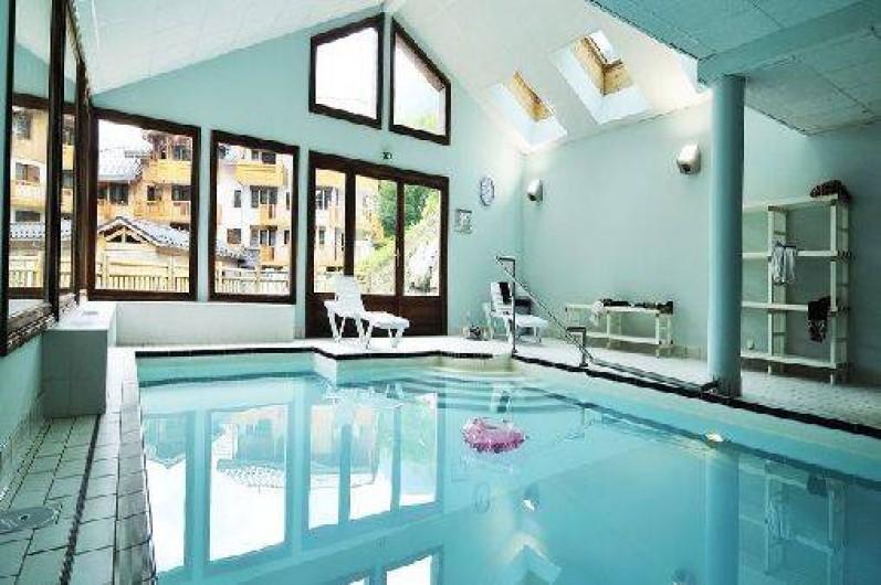 Appartement flumet savoie dans r sidence avec piscine - Residence piscine interieure ...