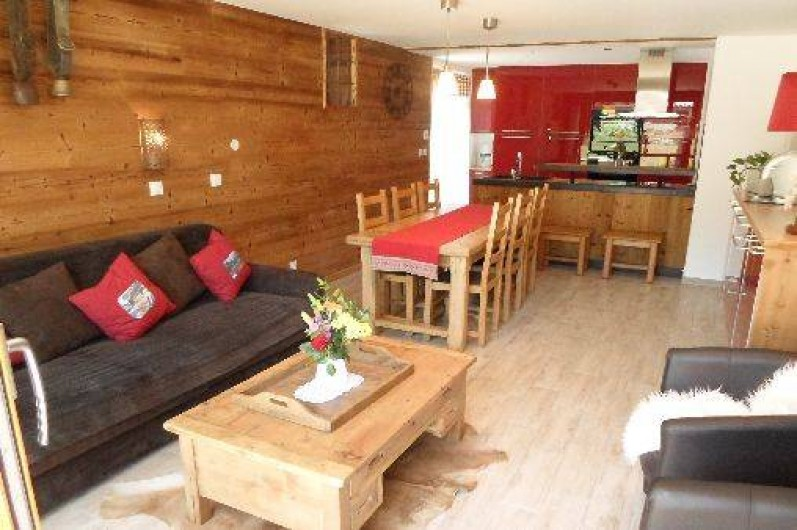 Location de vacances - Appartement à Valloire - Un séjour de qualité dans le respect des chalet de montagne
