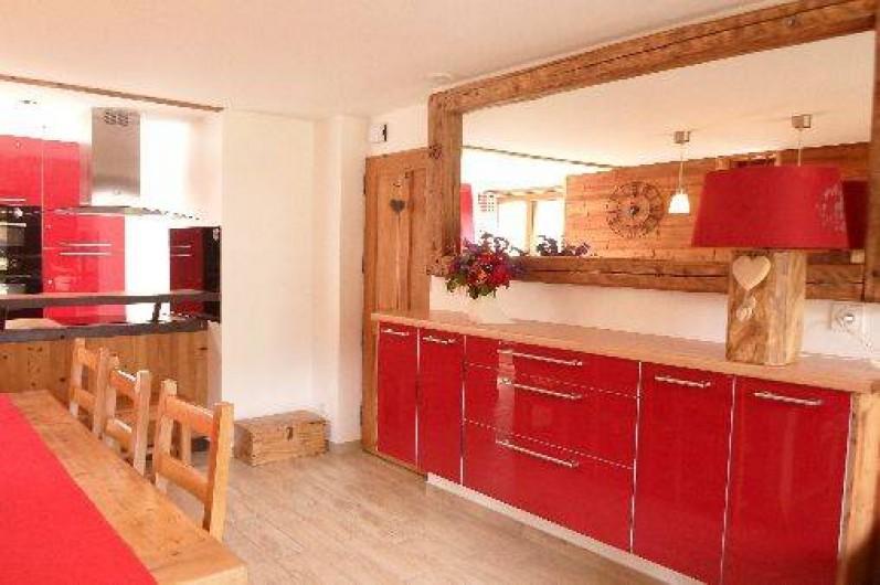Location de vacances - Appartement à Valloire - un mobilier contemporain