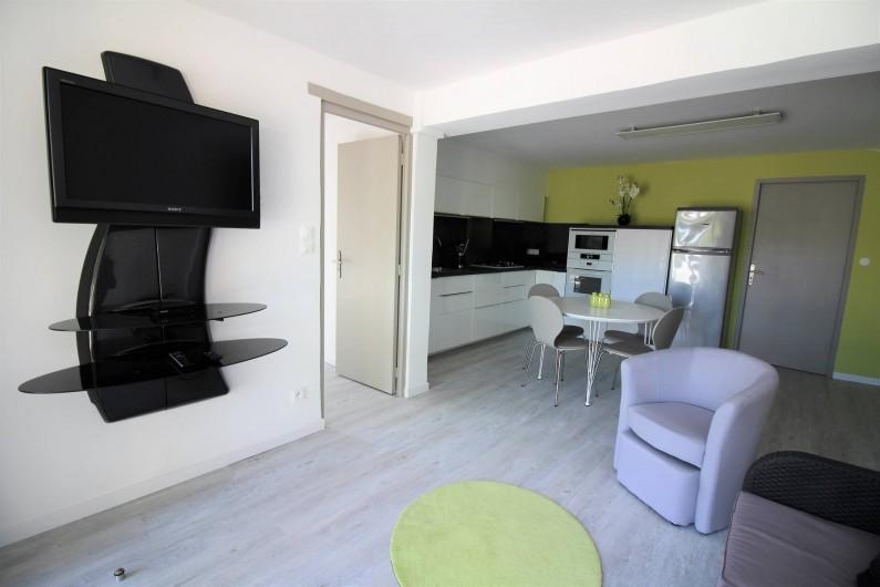 Location de vacances - Appartement à Roquebrune-sur-Argens - SALON