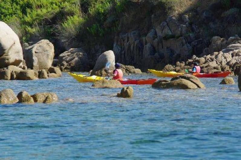 Location de vacances - Maison - Villa à Coti-Chiavari - ballade en kayak depuis la plage de Portigliolo