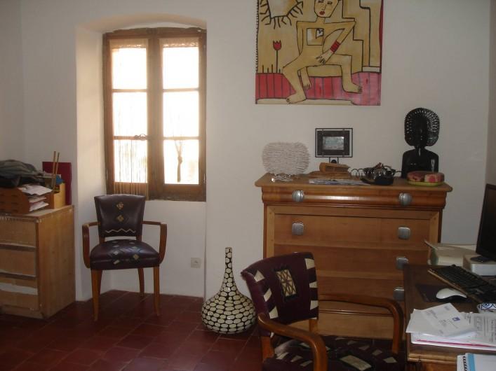 Location de vacances - Appartement à L'Île-Rousse - CHAMBRE LIT DOUBLE