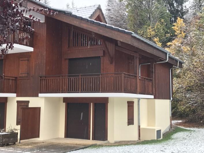 Location de vacances - Appartement à Samoëns - Appartement vue extérieure