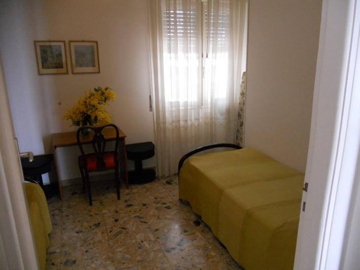 Location de vacances - Appartement à Ospedaletti - Cambre Nr. 2 avec deux lits singles