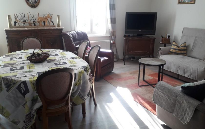 Location de vacances - Chambre d'hôtes à Eguisheim - Gite de Tante  Line, se loue  à la  semaine   7 pers,  3  chambres