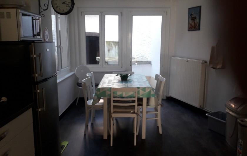 Location de vacances - Chambre d'hôtes à Eguisheim - Cuisine dans le  Gite