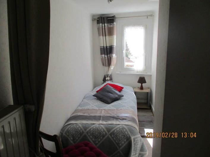 Location de vacances - Chambre d'hôtes à Eguisheim - petite  alcôve pour un enfant ou  un Ado , voir  Adulte  dans le Gite