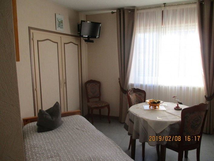 Location de vacances - Chambre d'hôtes à Eguisheim - Chambre  Brune