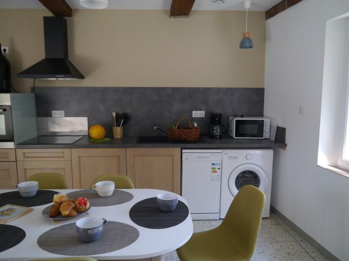 Location de vacances - Appartement à Saint-Paulet-de-Caisson - L'instant convivial
