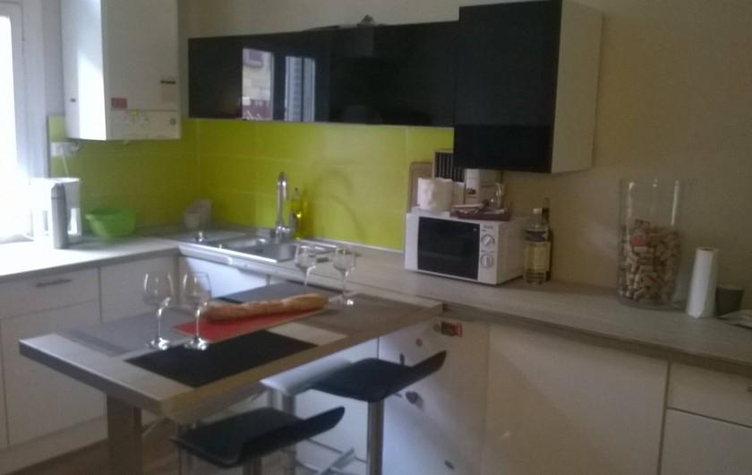 Location de vacances - Appartement à Sarlat-la-Canéda - cuisine