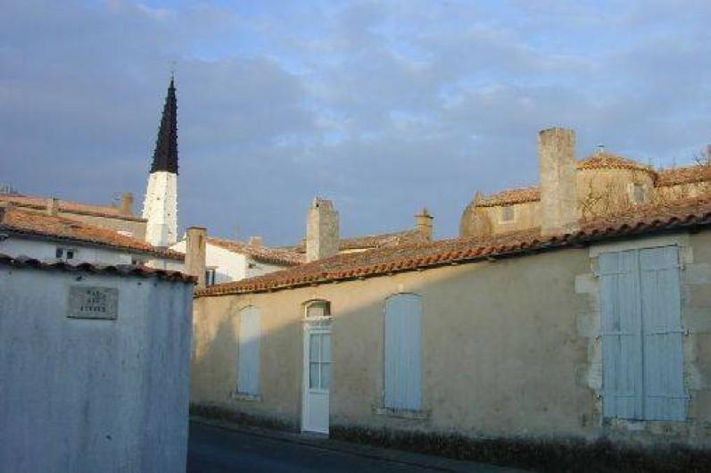 Location de vacances - Maison - Villa à Ars-en-Ré - vue d'une des chambre
