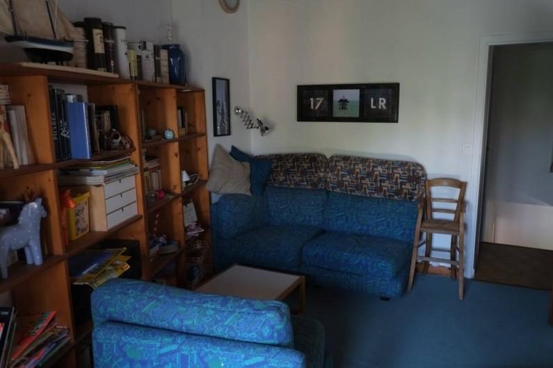 Location de vacances - Maison - Villa à Ars-en-Ré - mezzanine bibliothèque