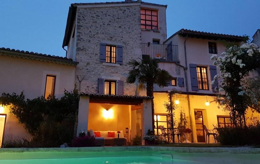 Location de vacances - Chambre d'hôtes à Pernes-les-Fontaines - Le Temps Suspendu Provence