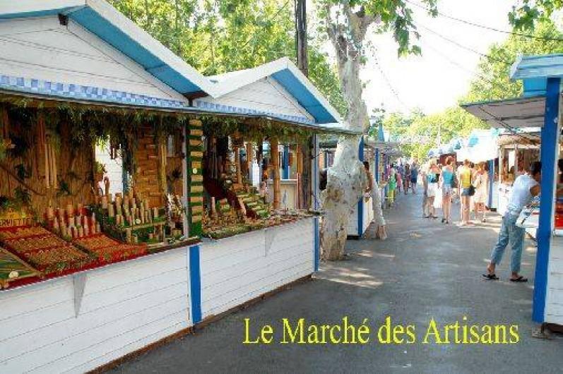 Location de vacances - Appartement à Argelès-sur-Mer - Le marché des artisants