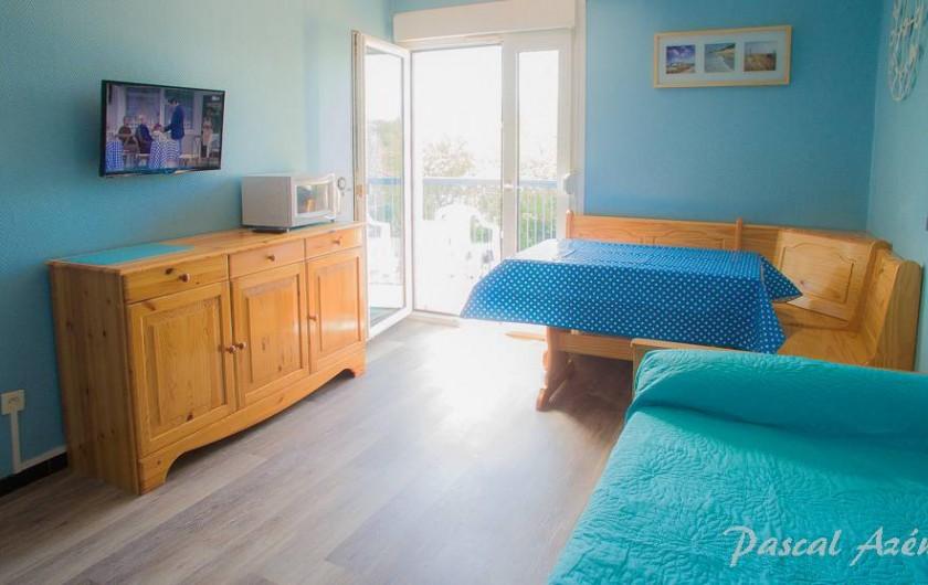 Location de vacances - Appartement à Argelès-sur-Mer - Le séjour