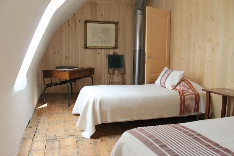 Location de vacances - Chambre d'hôtes à Aubrac - Le loft chambre