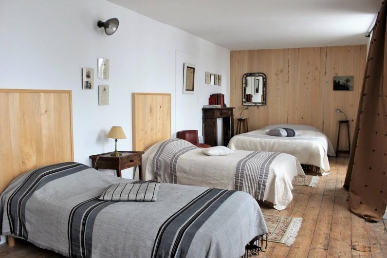 Location de vacances - Chambre d'hôtes à Aubrac - Chambre familiale