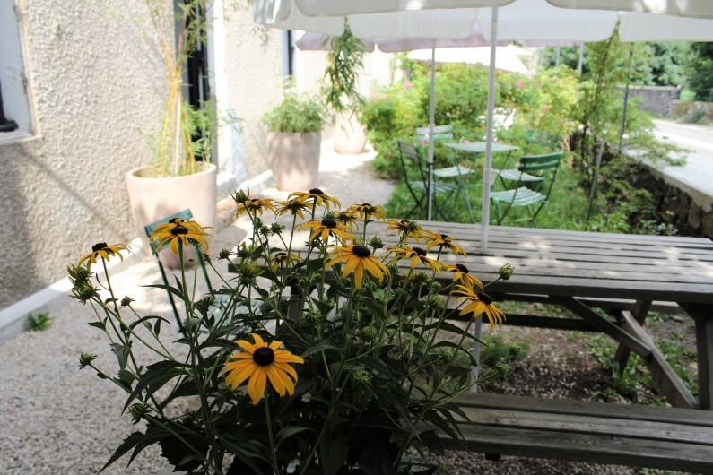 Location de vacances - Chambre d'hôtes à Aubrac - Jardin