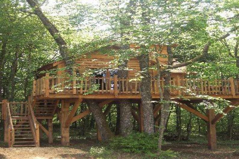 Location de vacances - Cabane dans les arbres à Monsac