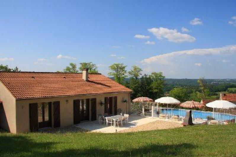 Maison  Sarlat La Canda En Dordogne En Aquitaine Avec Piscine  France