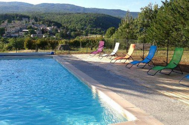 Location de vacances - Camping à Mallefougasse-Augès