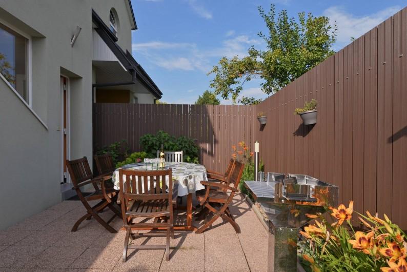 Location de vacances - Gîte à Logelheim - Espace extérieur privatif