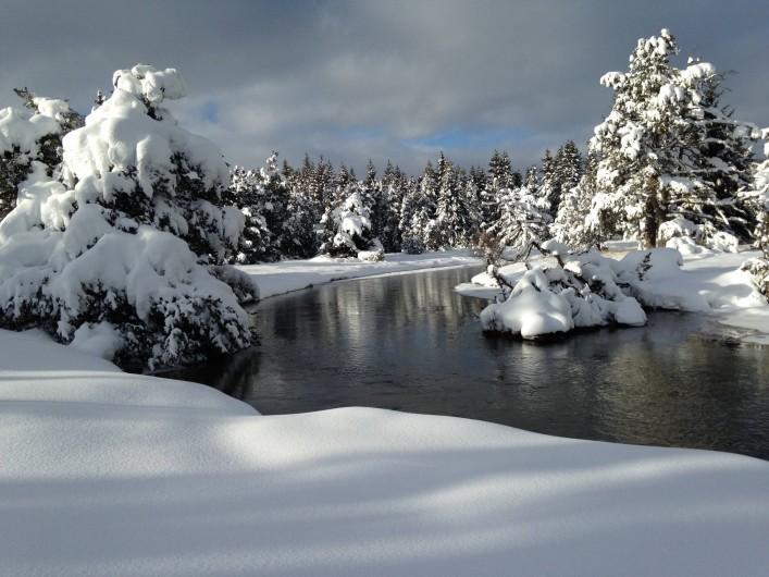 Location de vacances - Chalet à Bolquère - Une promenade  à coté du chalet : le petit Canada