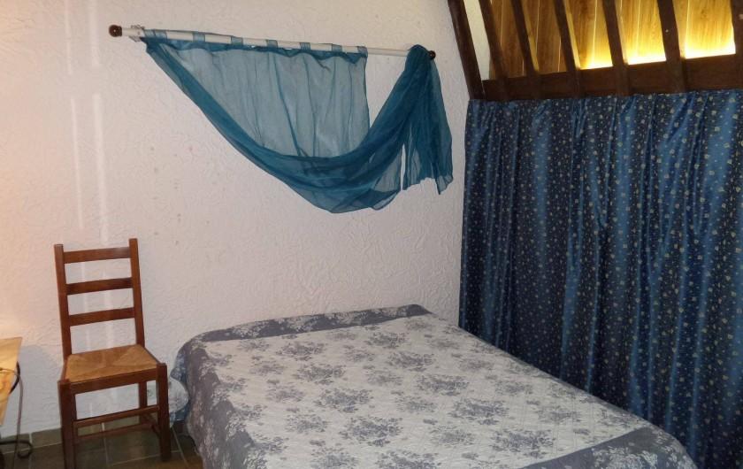 Location de vacances - Villa à Draguignan - vue principale de la chambre N°1