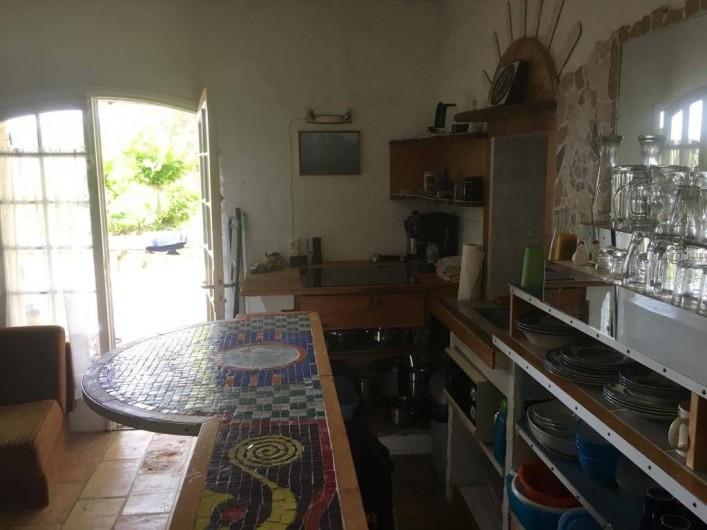 Location de vacances - Mas à Sainte-Maxime - la cuisine