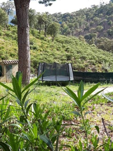 Location de vacances - Mas à Sainte-Maxime - la trampoline