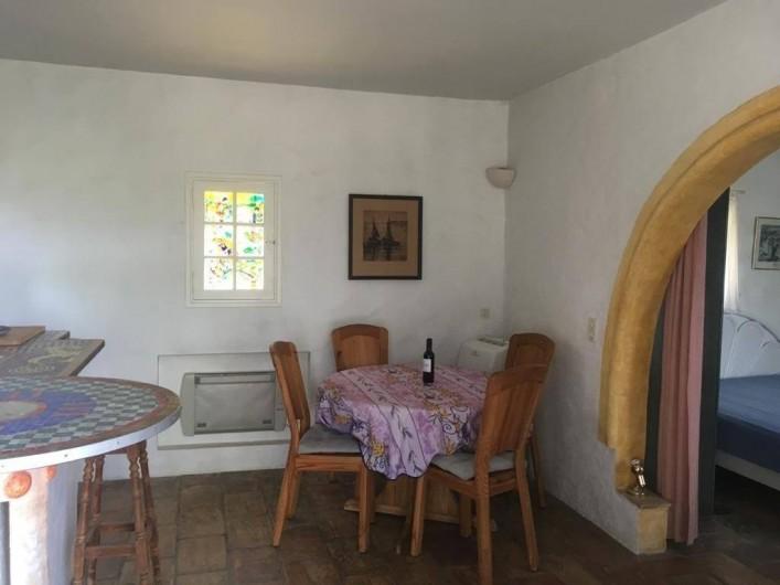 Location de vacances - Mas à Sainte-Maxime - la salle à manger
