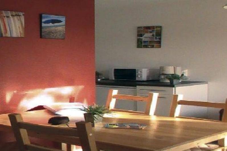 Location de vacances - Maison - Villa à Hourtin - Cottages Hourtin*** salle à manger