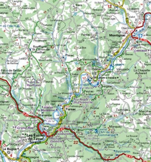 Location de vacances - Mas à Peyzac-le-Moustier