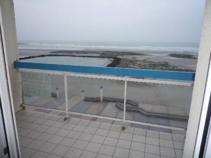 Location de vacances - Appartement à Wimereux - balcon