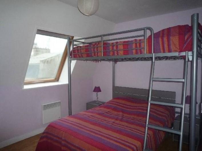 Location de vacances - Appartement à Wimereux - chambre avec 2 lits double