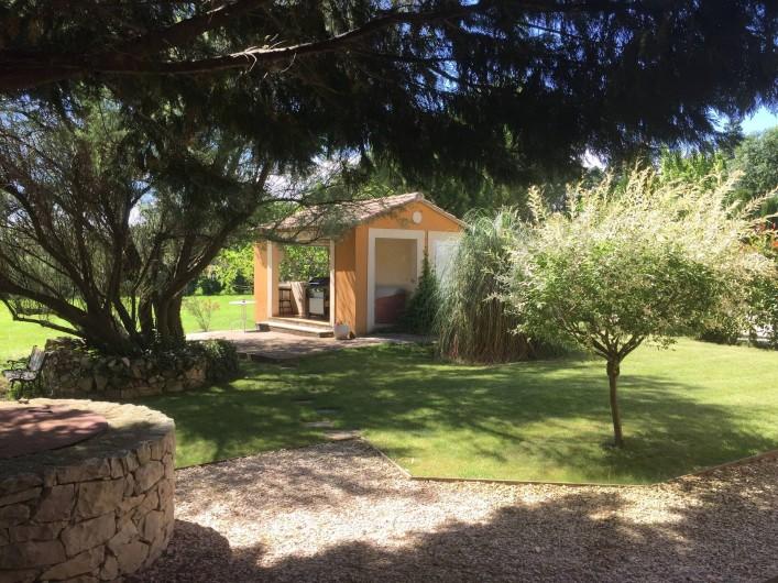 Location de vacances - Villa à Avignon - Barbecues area